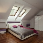 Warm insulation attic space
